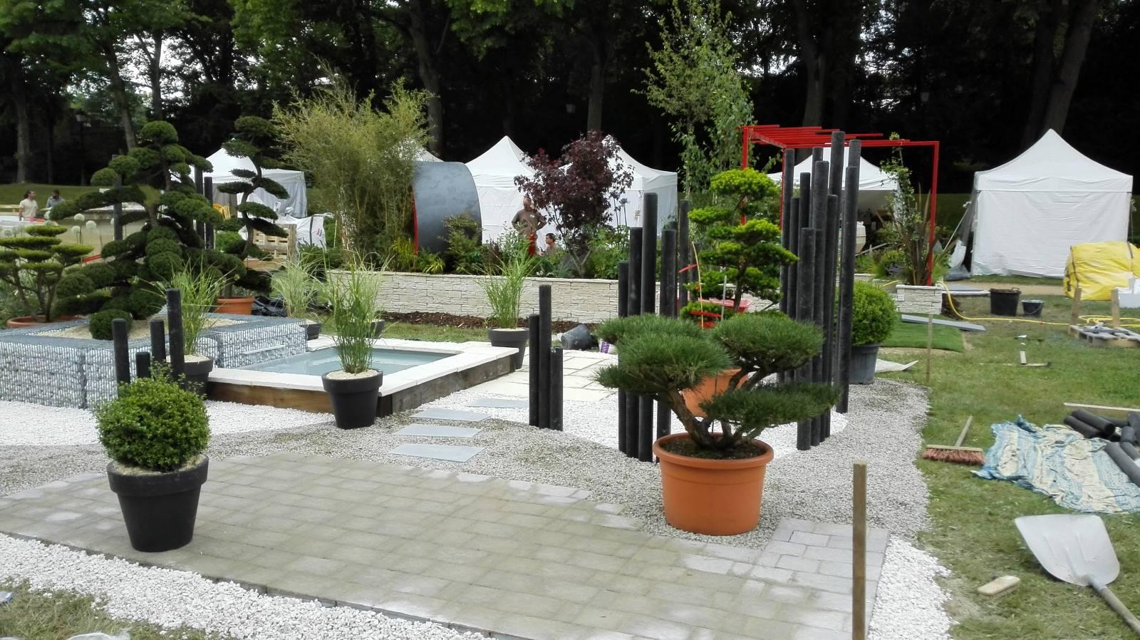 Am nagement de jardin paysager vienne 38 et sud de for Conception jardin lyon